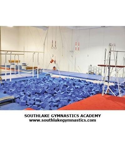 Southlake Gymnastics Pit