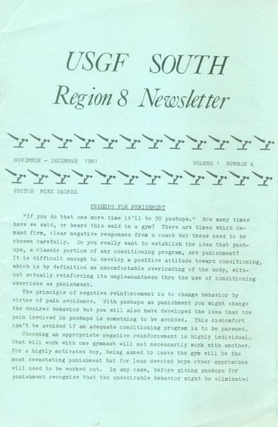 USGFsouthRegion8Newsletter