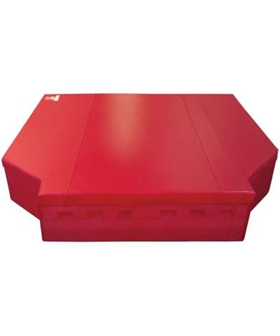red custom mat